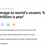 Damage to world's oceans 'to reach $2 trillion a year'